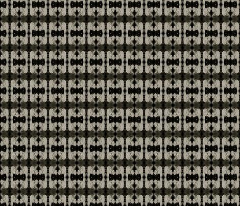 Talk to the Skull Bow Tie fabric by walkwithmagistudio on Spoonflower - custom fabric
