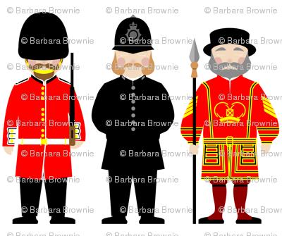London uniforms & beards