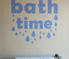 Bathtime Decal