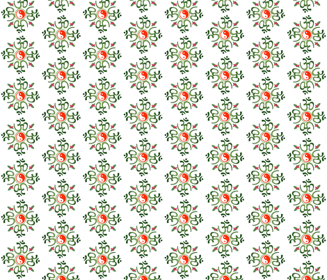 Have  A Very Zen Christmas fabric by leahvanlutz on Spoonflower - custom fabric