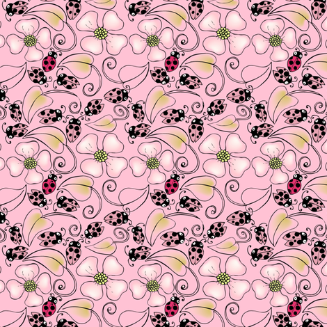 Dont Bug Me fabric by kari_d on Spoonflower - custom fabric