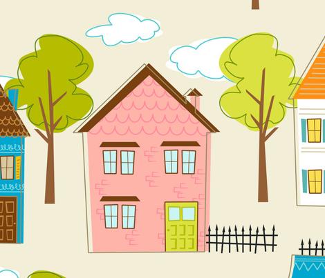 Hipster houses (linen)