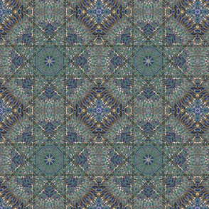 kaleidoscopic tile