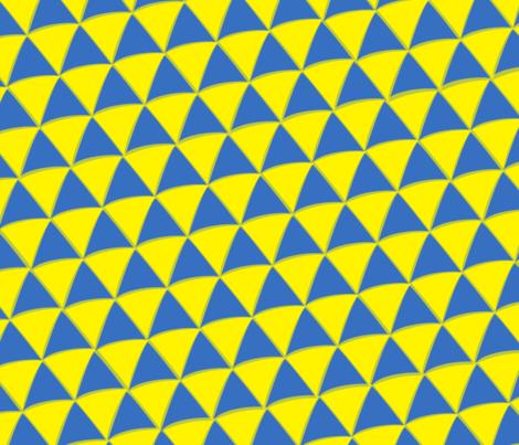 Geometric Triangle fabric by giantpeanut on Spoonflower - custom fabric