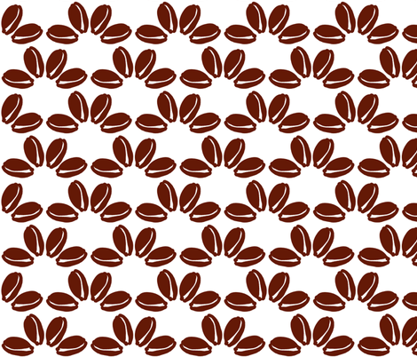 cowrie quattro brown fabric by nalo_hopkinson on Spoonflower - custom fabric