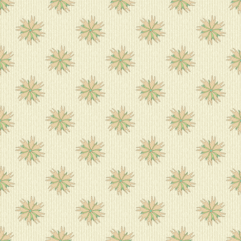 Armadillo Footprint Floral fabric by maplewooddesignstudio on Spoonflower - custom fabric