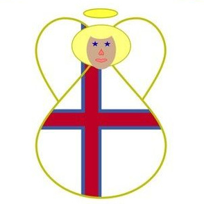 Faroe Islands Angel Blonde Hair
