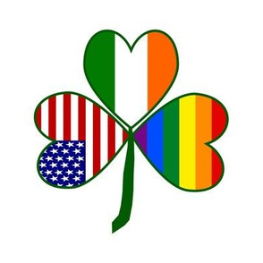 Gay Pride Shamrock