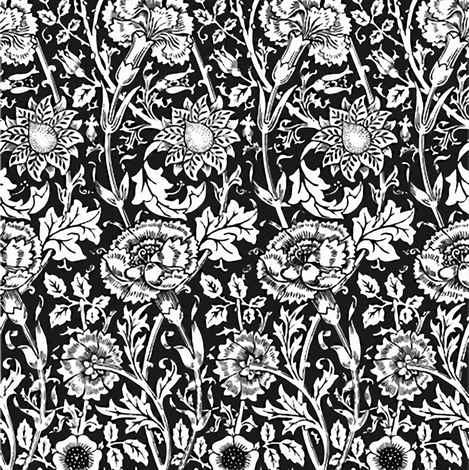 Avery White & Black fabric by flyingfish on Spoonflower - custom fabric