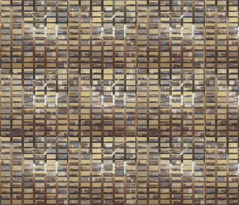 Skyscraper by day fabric by bonnie_phantasm on Spoonflower - custom fabric