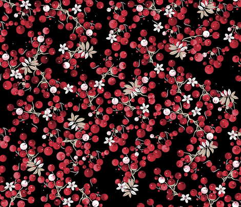 Berries fabric by alfabesi on Spoonflower - custom fabric