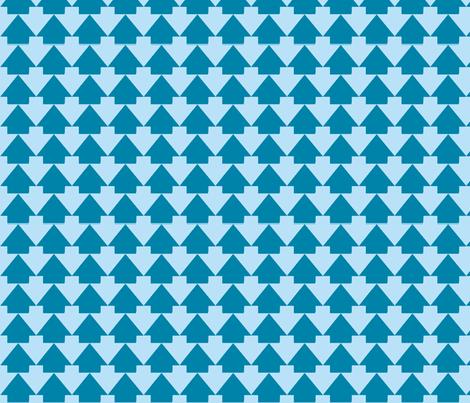 Arrowslong1-8X150-ch-ch-ch-ch fabric by grannynan on Spoonflower - custom fabric