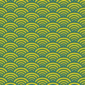 Ocean Waves - Seikaiha