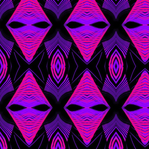 Bridge Pattern Purple