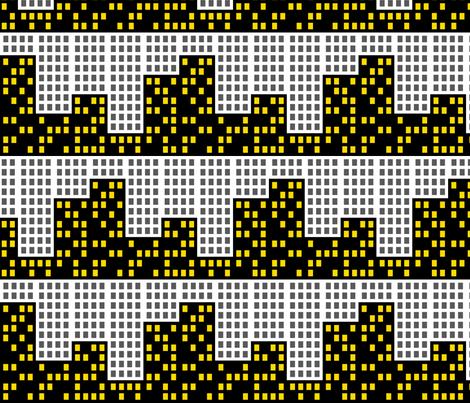POP Cityscape fabric by risarocksit on Spoonflower - custom fabric
