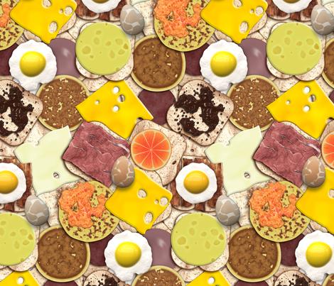 Got Breakfast? fabric by bonnie_phantasm on Spoonflower - custom fabric