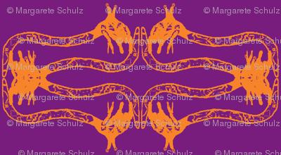 Creepy Crawlies No. 2 (Purple & Orange)