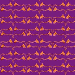 Creepy Crawlies No. 3 (Purple & Orange)