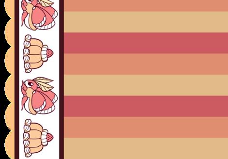 Lolita Bug: Red fabric by jayrock on Spoonflower - custom fabric