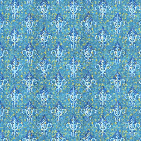 sparkly fleur de lis fabric by glimmericks on Spoonflower - custom fabric