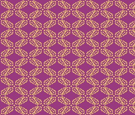 Earth_Angel_Ginger_Beer_cherubim fabric by izeondesign on Spoonflower - custom fabric