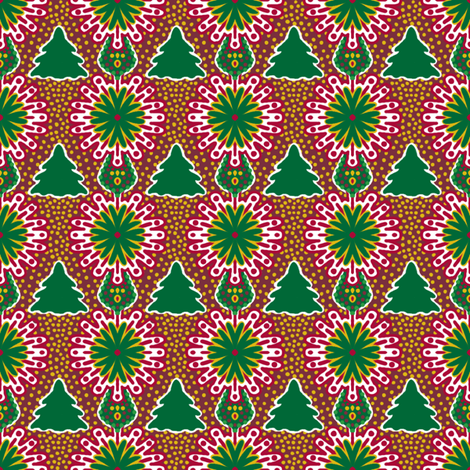 LittleTree fabric by tallulahdahling on Spoonflower - custom fabric