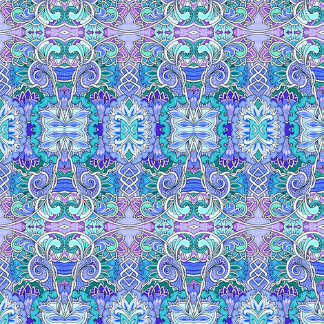 Curly Girly Whirly fabric by edsel2084 on Spoonflower - custom fabric