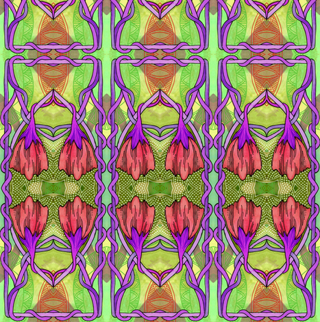 Echoes of 1913 fabric by edsel2084 on Spoonflower - custom fabric