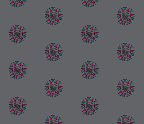 swirls  gray plum fabric by dnbmama on Spoonflower - custom fabric