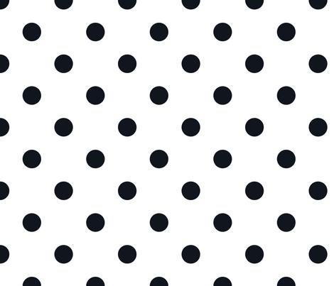 Polkas in frock fabric by domesticate on Spoonflower - custom fabric