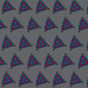 twisty gray triangles