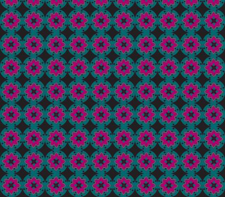 black plum minis fabric by dnbmama on Spoonflower - custom fabric