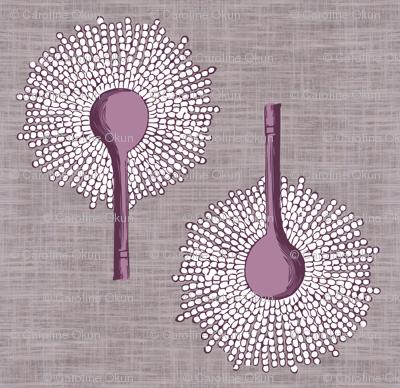 Aspergillus Organica lilac