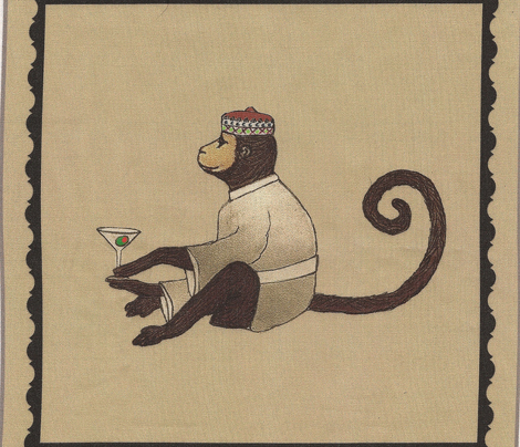 Aristocrat's animal party cocktail napkins