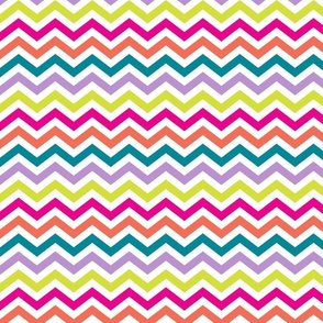 Cape Cod Rainbow Chevron