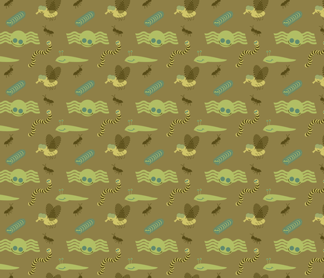 JimmyJibblies bugboo fabric by dahbeedo on Spoonflower - custom fabric