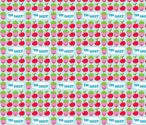 Too Sweet fabric by katiegariepy on Spoonflower - custom fabric