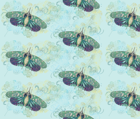 Hotinus Maculatus fabric by aftermyart on Spoonflower - custom fabric
