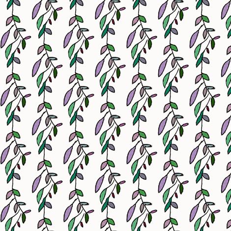 Simple Vine fabric by boris_thumbkin on Spoonflower - custom fabric