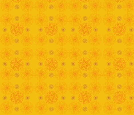 Marigold fabric by marguerite_bellangue on Spoonflower - custom fabric