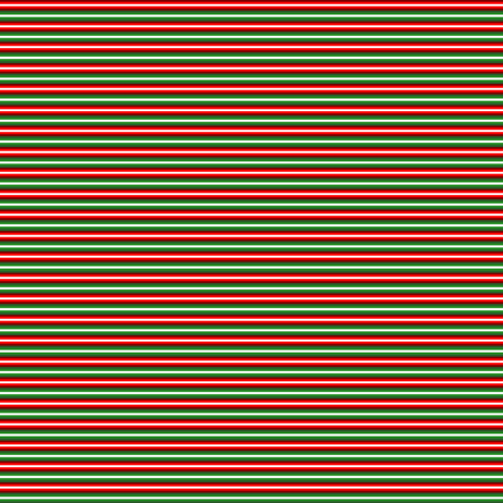 Christmas Candy Yo-Yo Stripe_B fabric by pd_frasure on Spoonflower - custom fabric