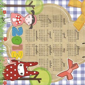 2013 Little Red & the Rabbits Calendar