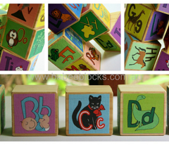 alphabet soup baby blocks