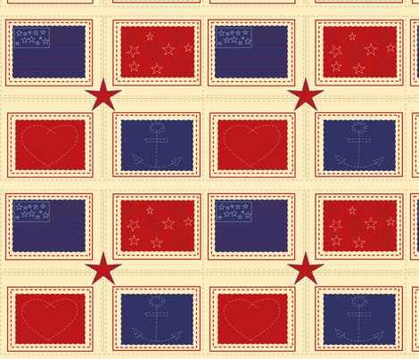 Star1 fabric by chovy on Spoonflower - custom fabric