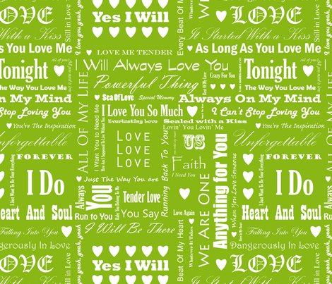 Love_songs_white_text_green_4_s_shop_preview