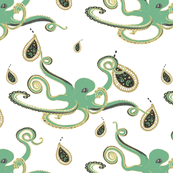 Paisley Ink Octopi