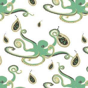 Paisley Ink Octopi