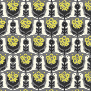 (Small Scale) 13 Lined Ground Squirrels in Gray