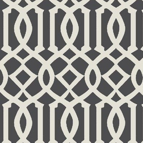 Imperial Trellis-Dark Gray