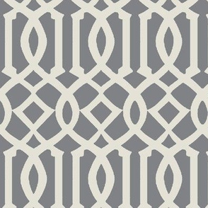 Imperial Trellis-Light Gray